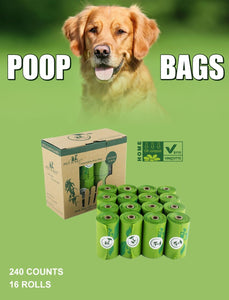Biodegradable Compostable Dog Waste Bags