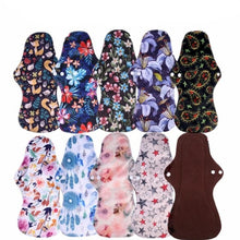 Load image into Gallery viewer, Reusable Bamboo Heavy Menstrual Pads - 10 Pack