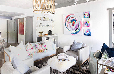 Nest Interiors, Suze Ford Art