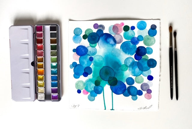 Watercolor Joy 9