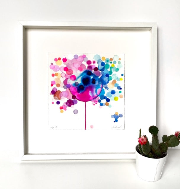 Watercolor Joy 12