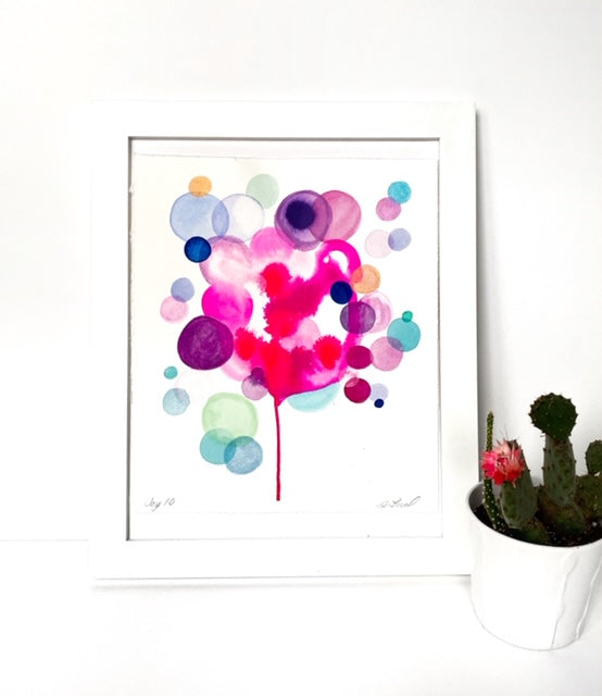 Watercolor Joy 10