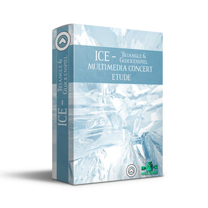 ICE - CONCERT ETUDE WITH TRACK AND CINEMA FOR TRIANGLE AND GLOCKENSPIEL