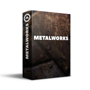 INDOOR PERCUSSION MUSIC - METAL WORKS