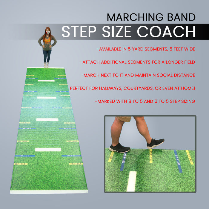 Step Size Coach - Marching Band
