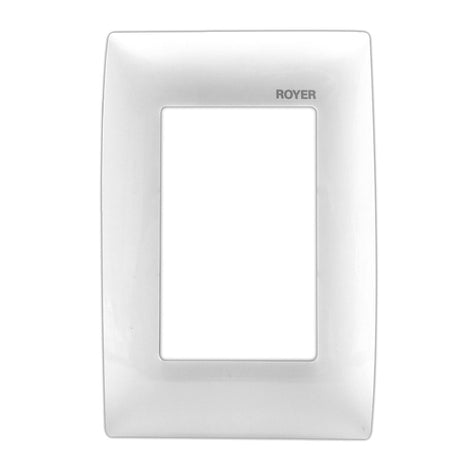 PLACA T/NEMA BLANCO 100-6204NW ROYER 100