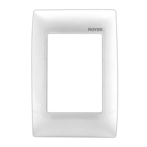 PLACA 3 MOD. BLANCO 100-6204W ROYER 100