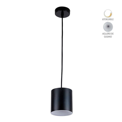 LUMINARIO DECORATIVO P/INTERIOR SUSPENDIDO LED 12W 3000K 600LM TECNOLITE