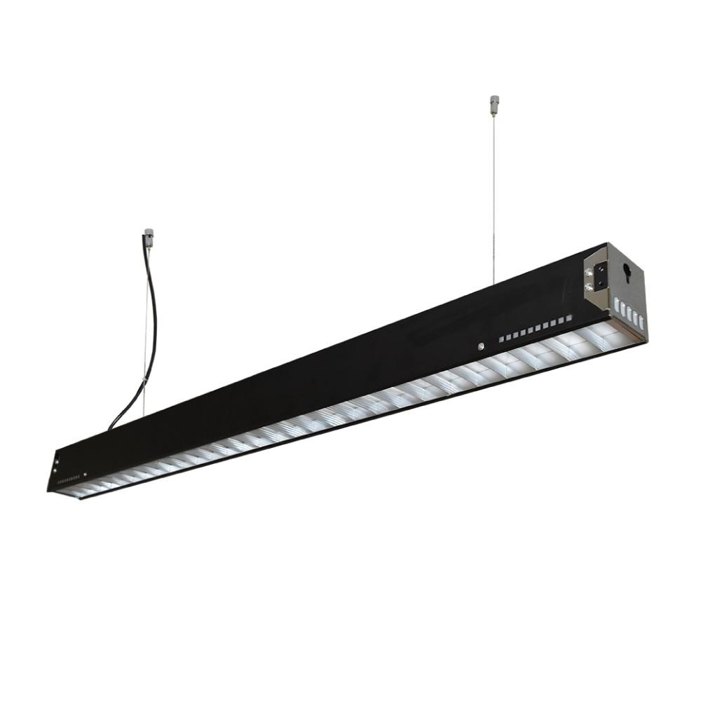 LUMINARIO INTERIOR RECTANGULAR LINEAL LED 20W 100-240V 4000K COLOR NEGRO MCA. TECNOLITE