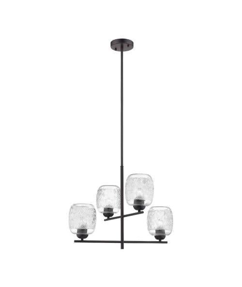 INTERIOR DECORATIVO SUSPENDIDO S/L100-240V. E27 FULU I