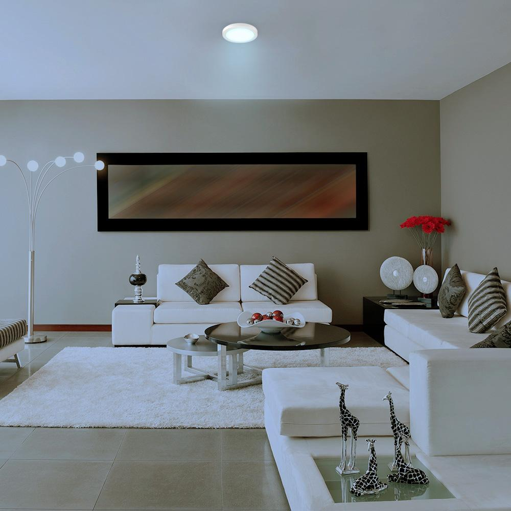 INTERIOR DECORATIVO PLAFON LED 24W. 100-240V. 6500K ANKAA IV