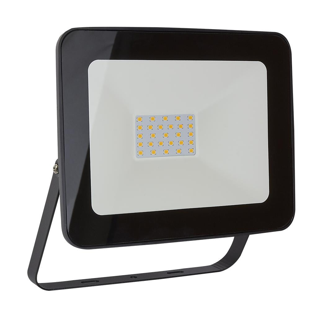 REFLECTOR LED 30W 100-240V 6500K COLOR NEGRO *** HASTA AGOTAR 2020 ***