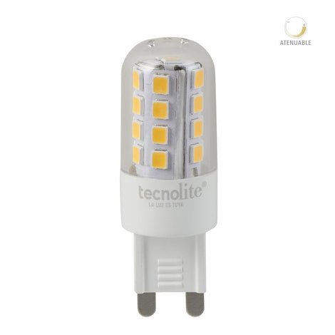 LAMP LED AMPOLLETA 3W 3000K G9 280LM
