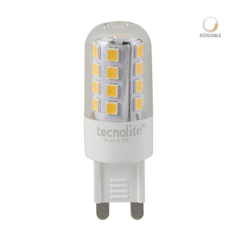 LAMP LED AMPOLLETA 3W 6500K G9 280LM