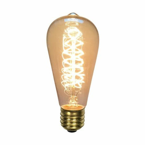 SLP LAMPARA INCANDESCENTE DECORATIVO 40W ST64 MCA PHILCO