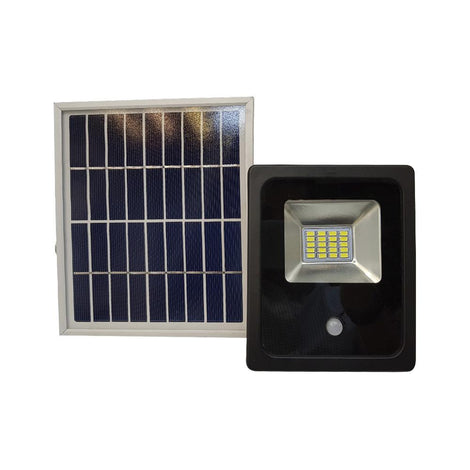REFLECTOR SOLAR LED 10W CON PANEL INDEPENDIENTE MCA PHILCO