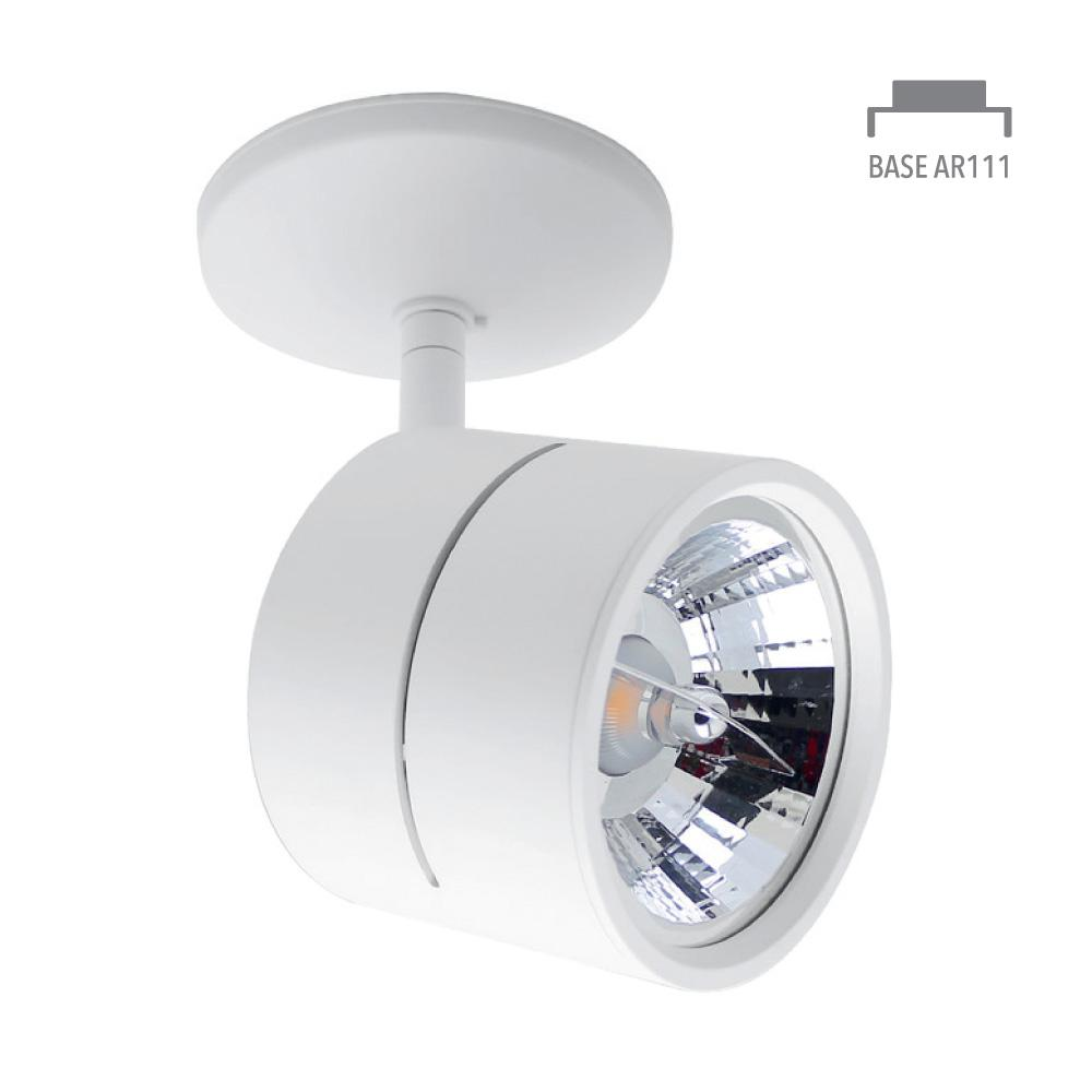 INTERIOR ACENTO SPOT RIEL S/L100-240V. G53 BLANCO AVOIR I