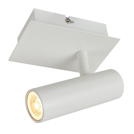 LUMINARIO SPOT P/INTERIOR SOBREPONER LED 6W 100-240V3000K COLOR BLANCO TECNOLITE