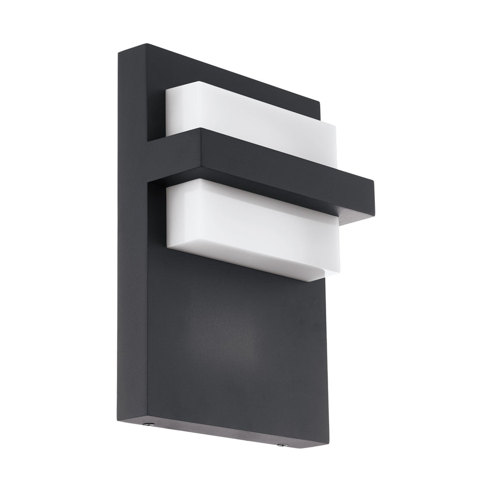 LUM PARED LED 10W NEGRO CULPINA EGLO