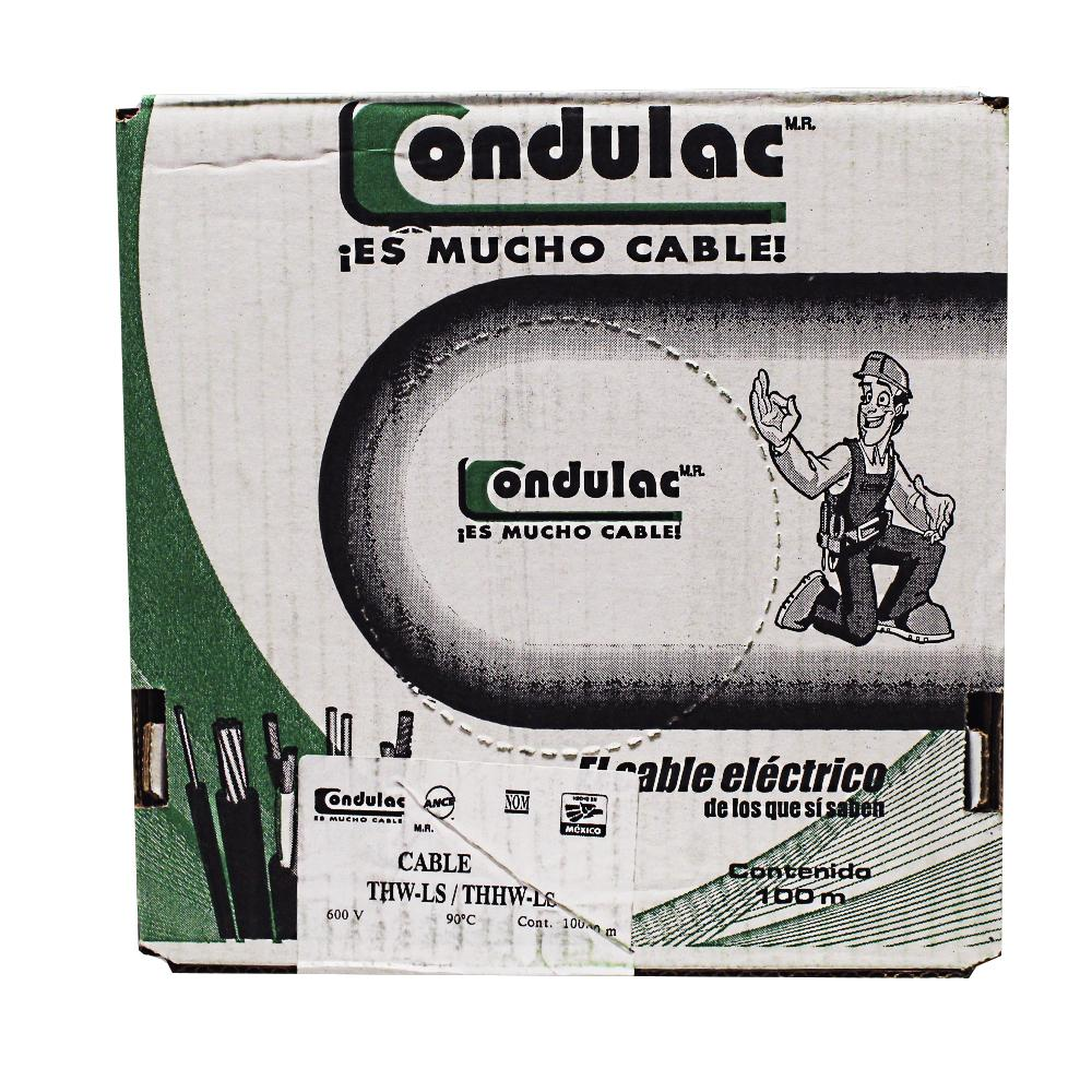 CAJA CABLE THW CAL. 10 BLANCO ANTIFLAMA 752 ECO.
