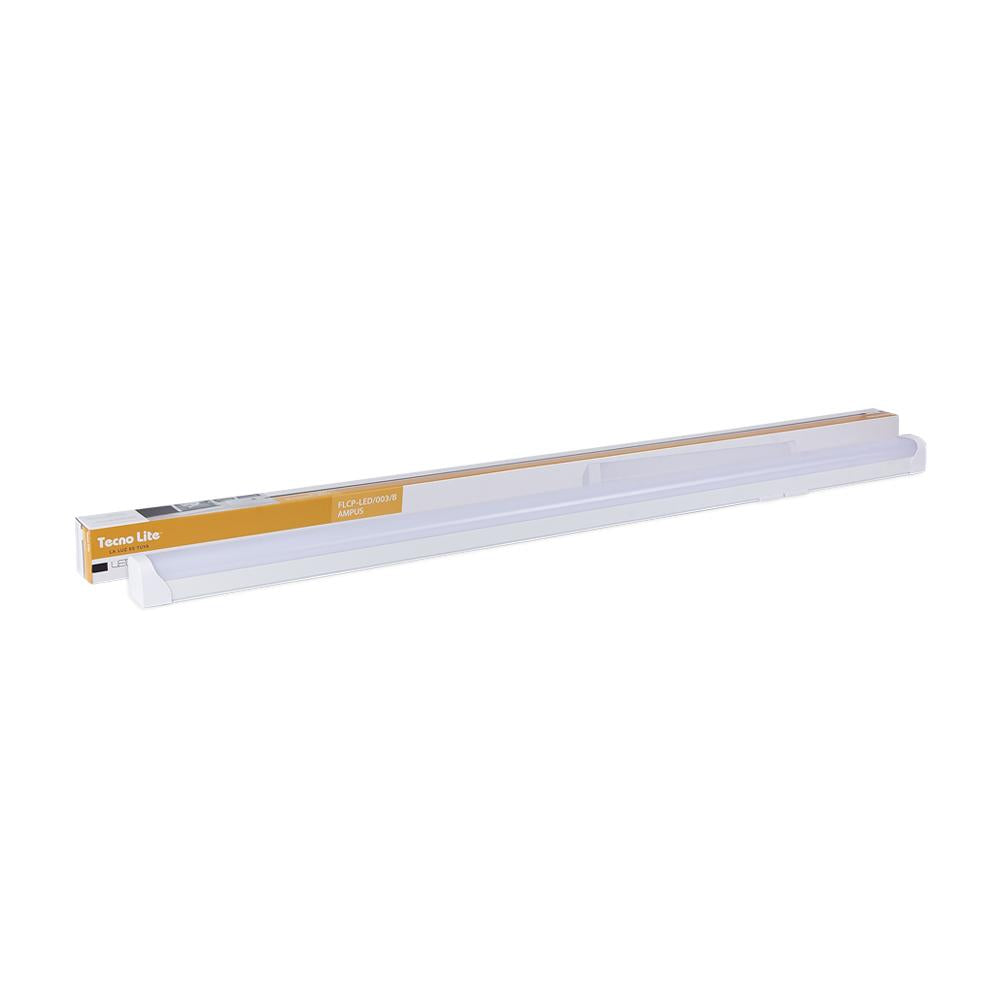 LUMINARIO RECTANGULAR P / INTERIOR EMPOTRADO LED 36W 100-240V 4000K COLOR BLANCO MCA. TECNOLITE