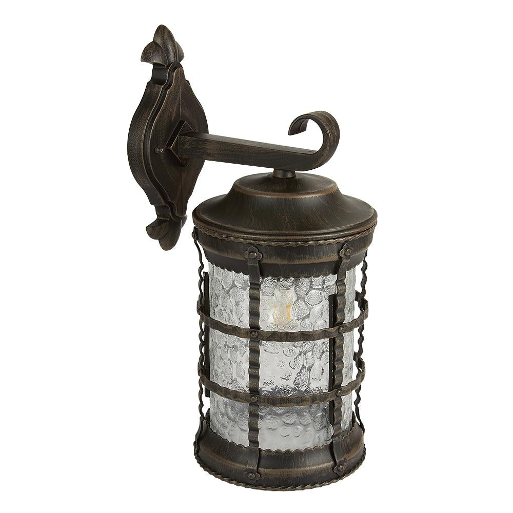FAROL PARED BRONCE ANTIGUO 100W/127V. RUSO