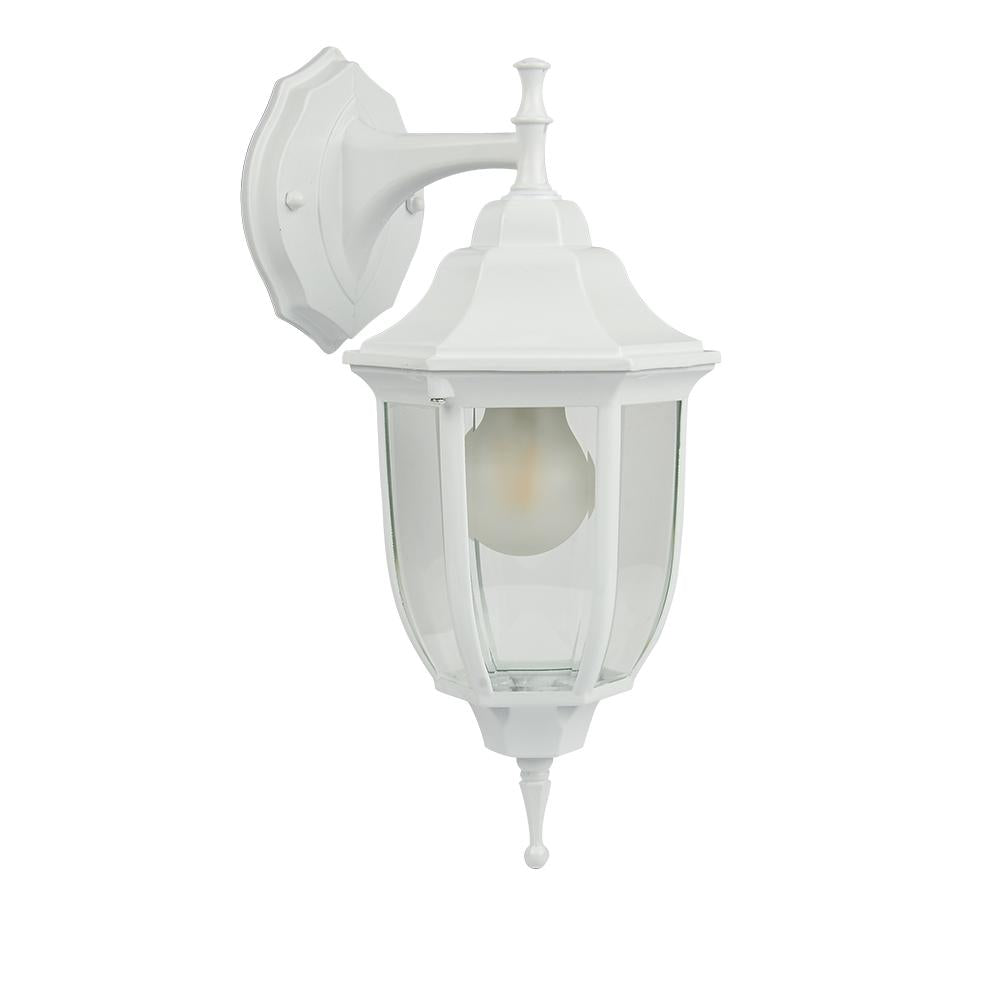 FAROL PARED BLANCO TRANSPARENTE E26 TECNOLITE