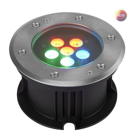 EMPOTRADO P/PARED LED 7.5W. RGB 100-240V. 17 MV IP 65 ACERO INOX. CHICAGO I
