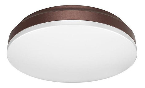 LUMIN. LED EMP. CEILING CL 200 12W/100-240V BFP 3000K CHOCOLATE