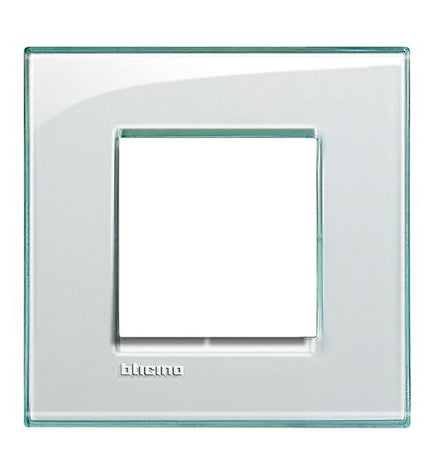 PLACA RECTANGULAR COLOR AGUAMARINA 2 MOD. LNA4802KA LIVING Y LIGHT