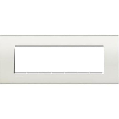 PLACA RECTANGULAR COLOR BLANCO 7 MOD. LNA4807BI LIVING Y LIGHT