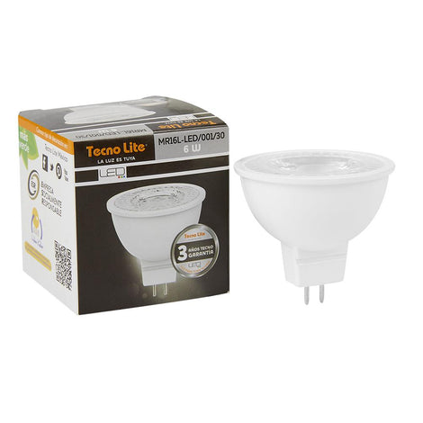 LAMP. LED MR16 6W/100-240V GX5.3 3000K
