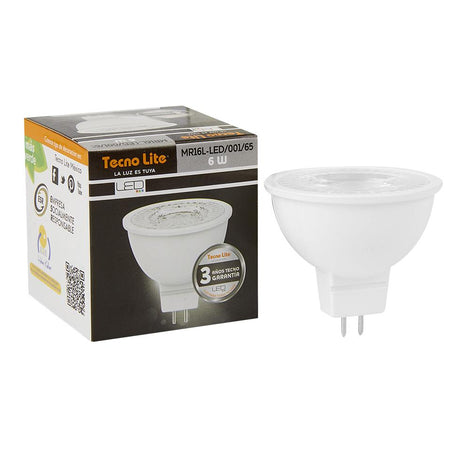 LAMP. LED MR16 6W/100-240V GX5.3 6500K