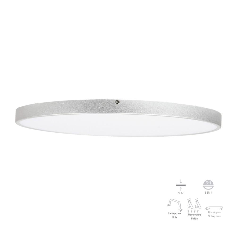 PLAFON DIMEABLE REDONDO LED 6500K 15W