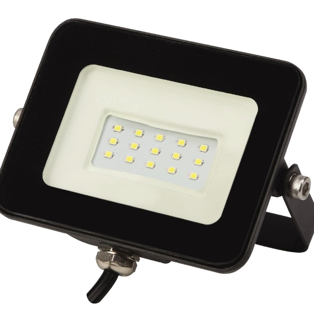 REFLECTOR LED 10W 127V P/EXTERIOR COLOR NEGRO IP65