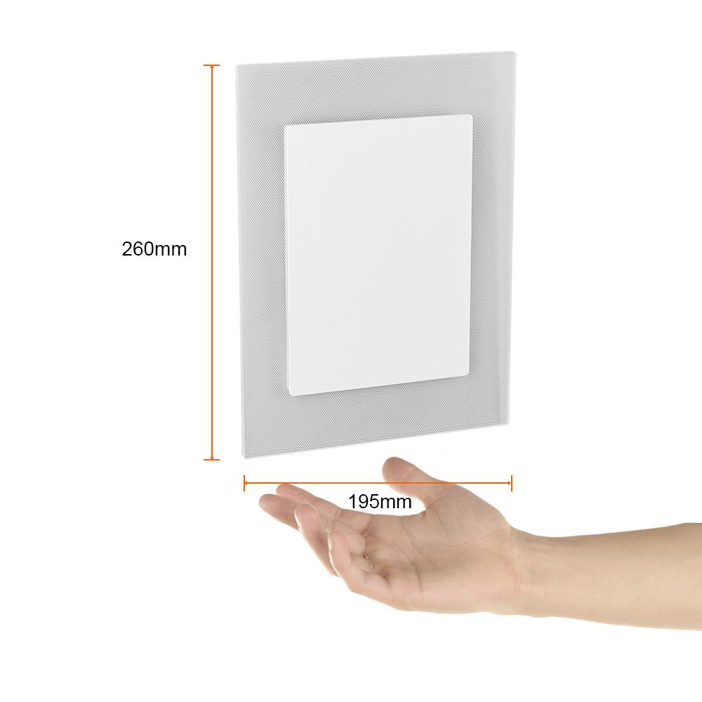 LUMINARIO PARED LED 4000K BLANCO