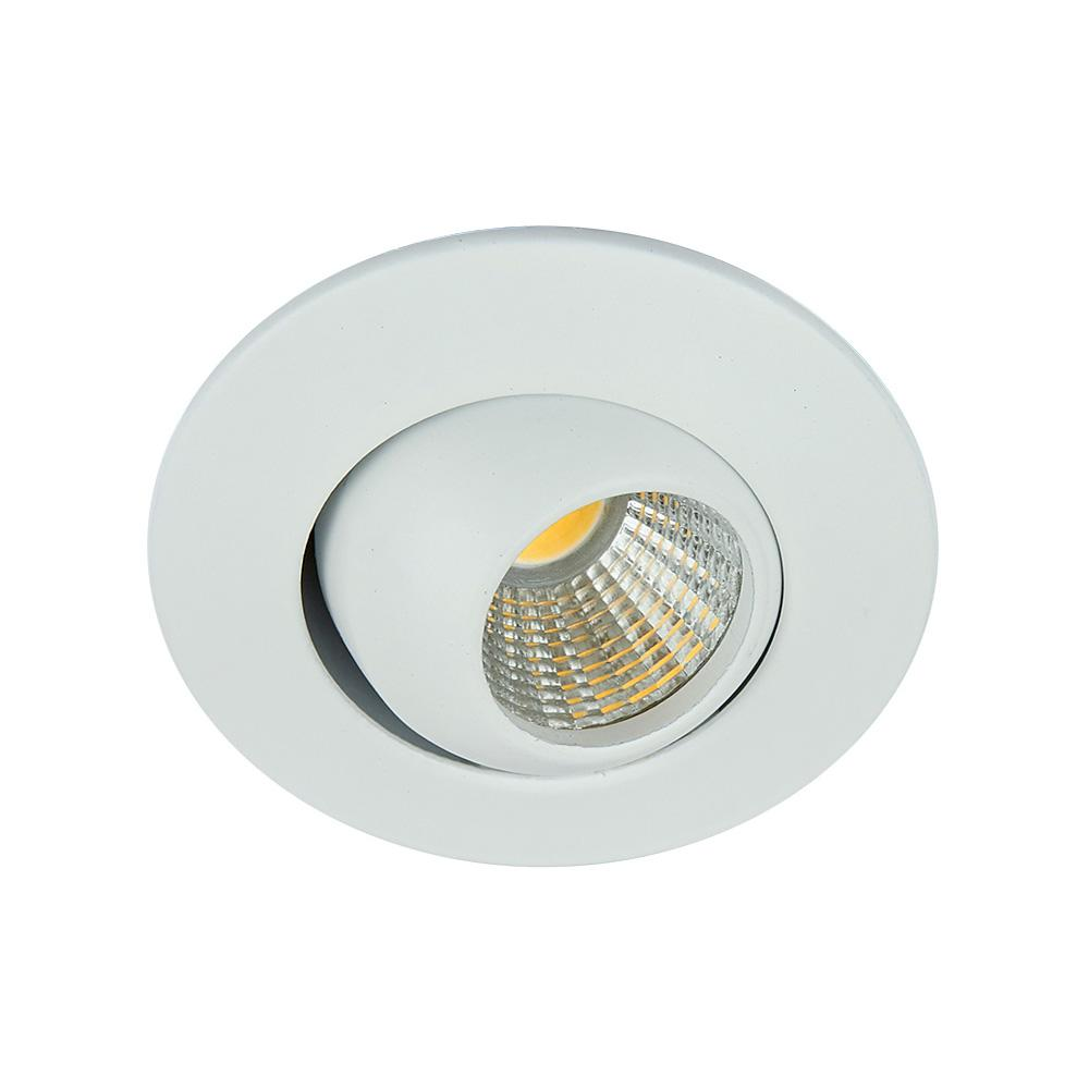 LUMINARIO LED EMPOTRADO BLANCO 4W/100-240V. 46MM. ABEBA