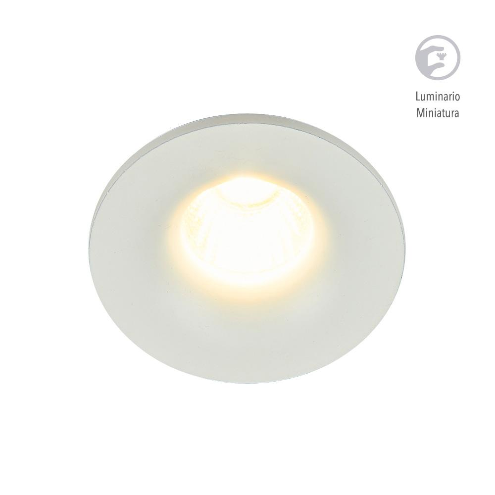 LUMINARIO LED EMPOTRADO BLANCO 4W/100-240V. 39MM. ADELAIDE