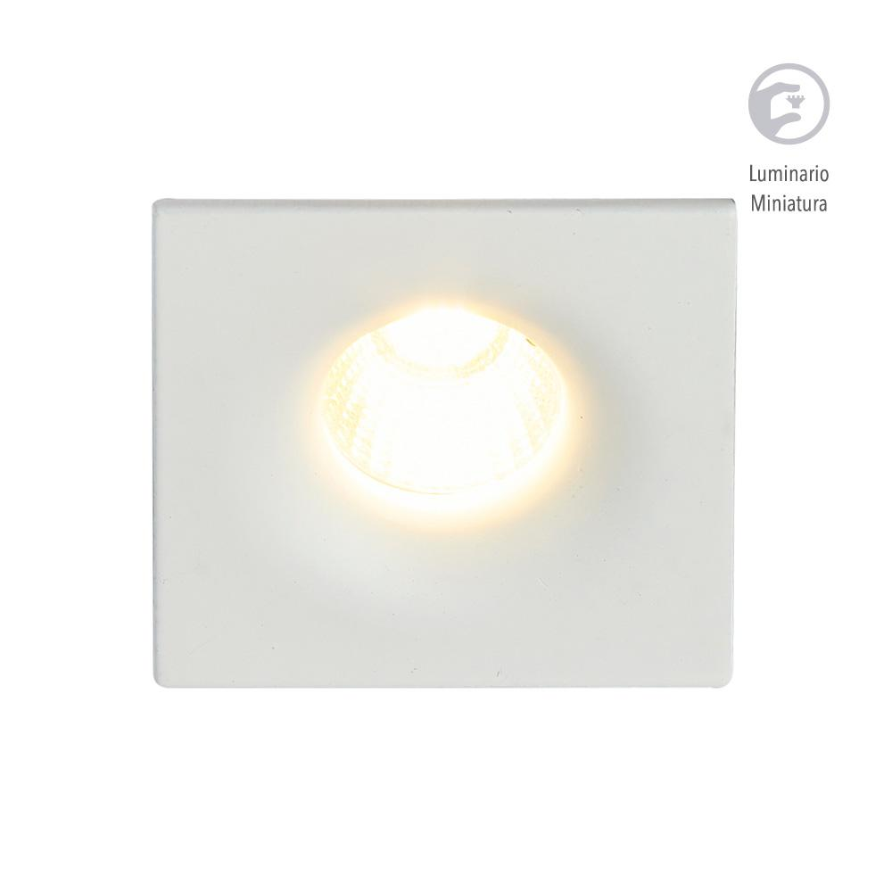 LUMINARIO LED EMPOTRADO BLANCO 4W/100-240V. 39MM. AKABA