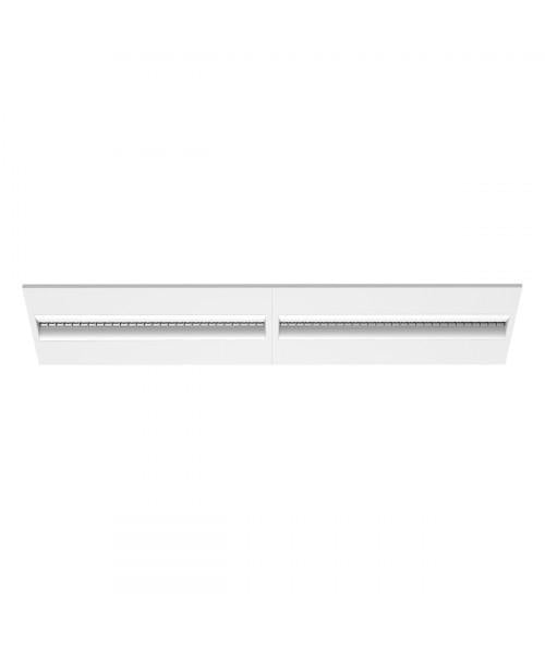 LUMINARIO RECTANGULAR INTERIOR EMP. LED 30W 100-240V 4000K BLANCO MCA TECNOLITE