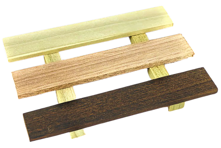 Exotic Hardwood Soap Tray