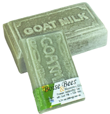 Tea Tree Charcoal - Goat Milk Raw Honey Bar