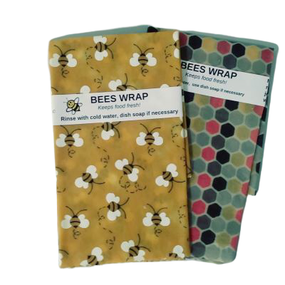 Beeswax Wraps - Set of 2