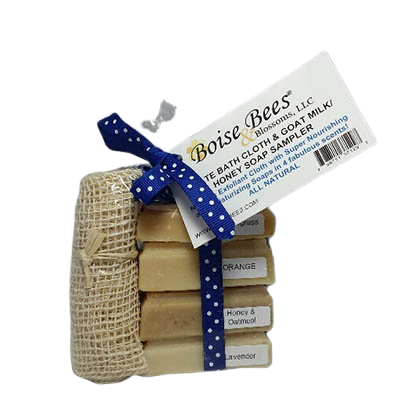 Sampler Soap Gift Set with Ayate Cloth