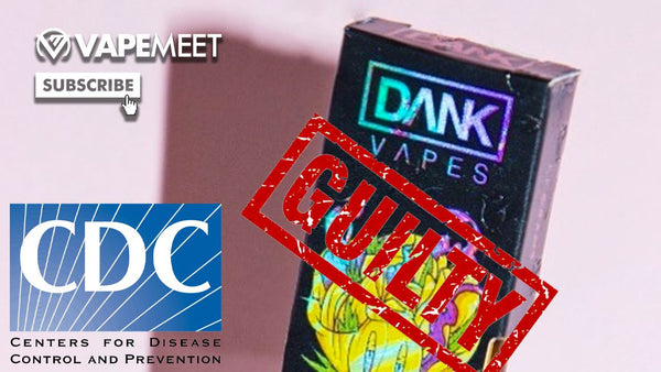 CDC CONFIRMS VAPING IS NOT THE PROBLEM