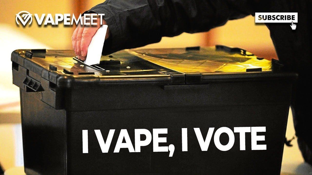 Election Pressure is On: I Vape, I Vote & YOU Should Too!