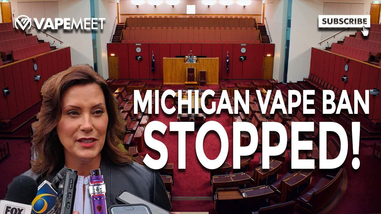 MICHIGAN VAPE BAN STOPPED...For Now