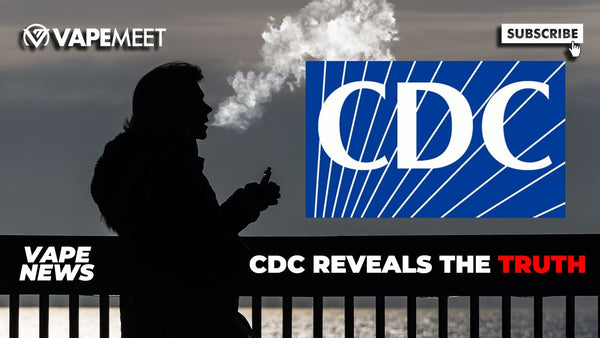 CDC CANCELS WARNING ON VAPING & MORE!