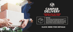 Online Orders now Shipping with Canpar