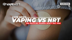 Study Proves Vaping is 2x MORE Effective than Patches/Gum!